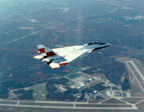 Super Tomcat Over Calverton Li Grumman Memorial Park